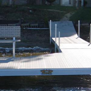 8x12 Sun Deck with Corner Piece