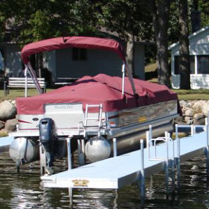 U- Shaped Beach King Dock