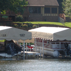 3000# Vertical Boat & Pontoon Lift