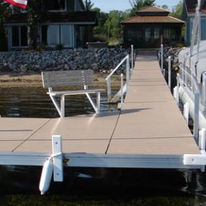 60ft w/ 8x12 Deck and corner - Genovations Decking