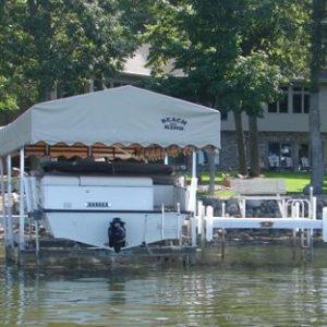 4,000lb Vertical Deck Boat